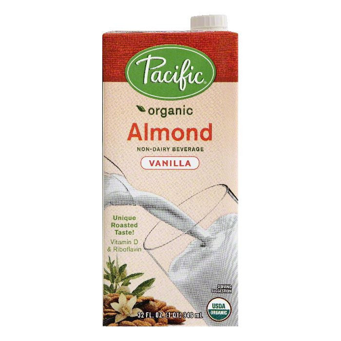 Pacific Vanilla Almond Non-Dairy Beverage, 32 OZ (Pack of 12)