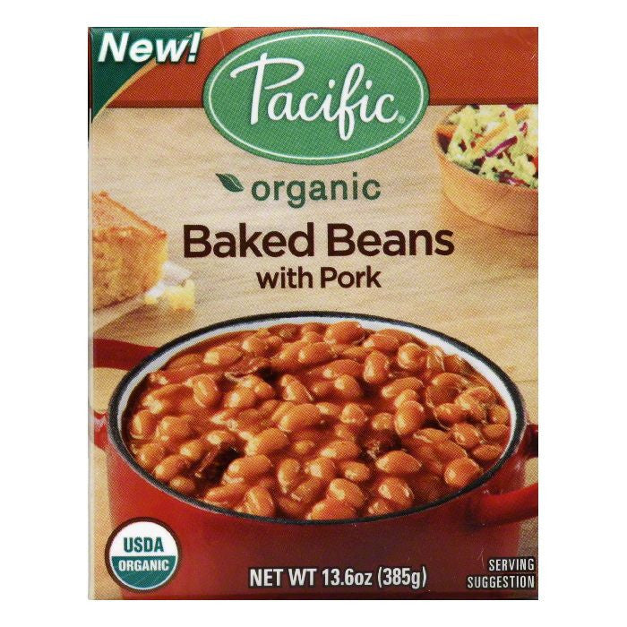 Pacific with Pork Baked Beans, 13.6 Oz (Pack of 12)