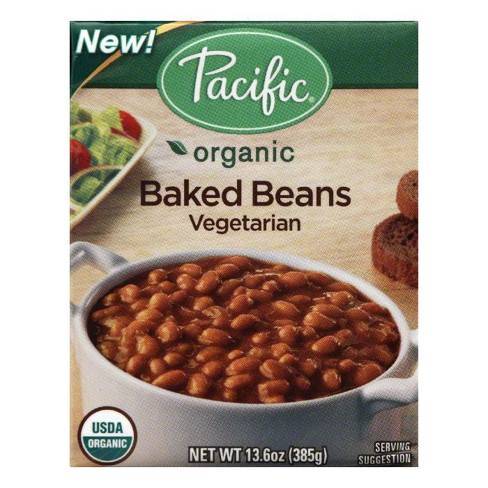 Pacific Vegetarian Baked Beans, 13.6 Oz (Pack of 12)