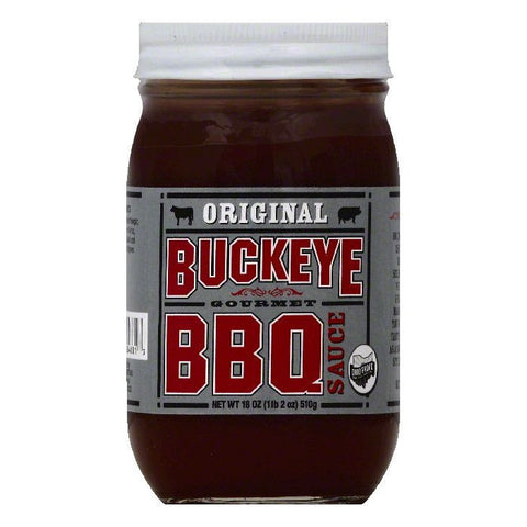Buckeye Original Gourmet BBQ Sauce, 18 OZ (Pack of 12)