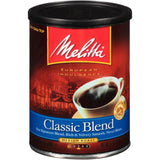 Melitta Classic Blend Medium Roast Ground Coffee 11 Oz  (Pack of 12)
