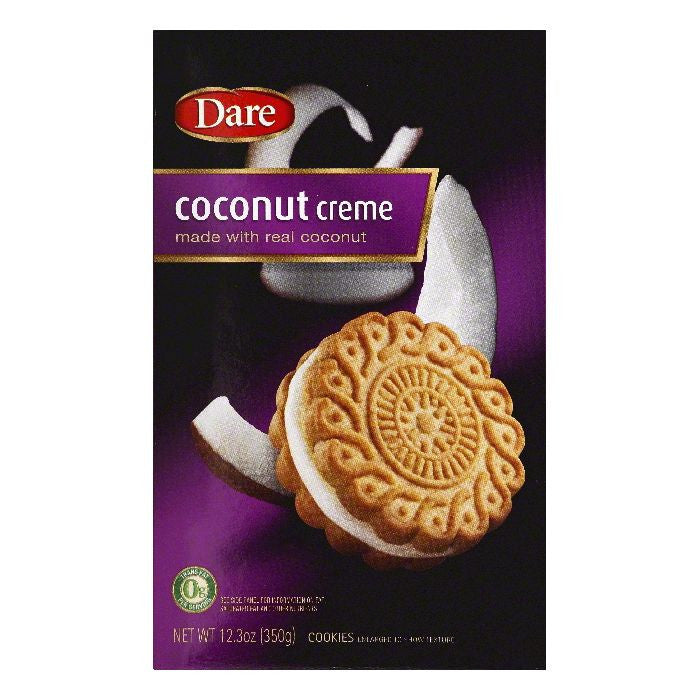 Dare Coconut Creme Cookies, 12.3 OZ (Pack of 12)