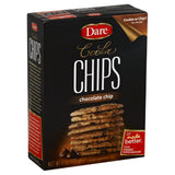 Dare Chocolate Chip Cookie Chips, 6 Oz (Pack of 12)
