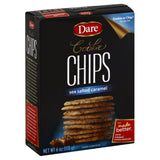 Dare Sea Salted Caramel Cookie Chips, 6 Oz (Pack of 12)