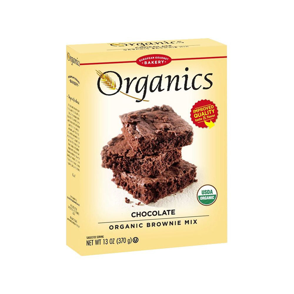 European Gourmet Bakery Chocolate Organic Brownie Mix, 13.1 Oz (Pack of 12)