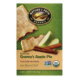 Natures Path Granny's Apple Pie Frosted Toaster Pastries, 6 ea (Pack of 12)