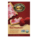 Natures Path Razzi Raspberry Frosted Toaster Pastries, 6 ea (Pack of 12)