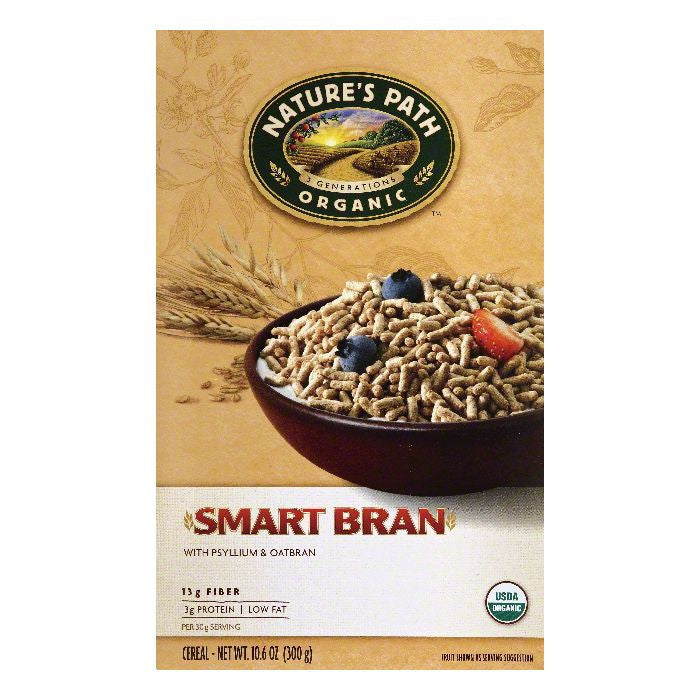 Natures Path Smart Bran Cereal, 10.6 OZ (Pack of 6)