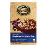 Natures Path Blueberry Cinnamon Flax Cereal, 14 OZ (Pack of 6)