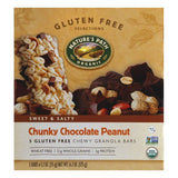 Natures Path Chunky Chocolate Peanut Chewy Granola Bars, 6.2 Oz (Pack of 6)