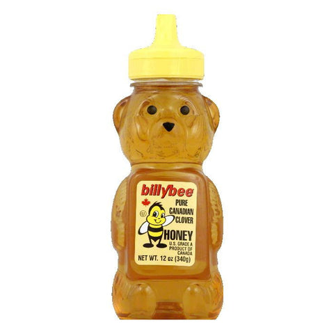 Billy Bee Honey Squeeze Bear, 12 OZ (Pack of 6)