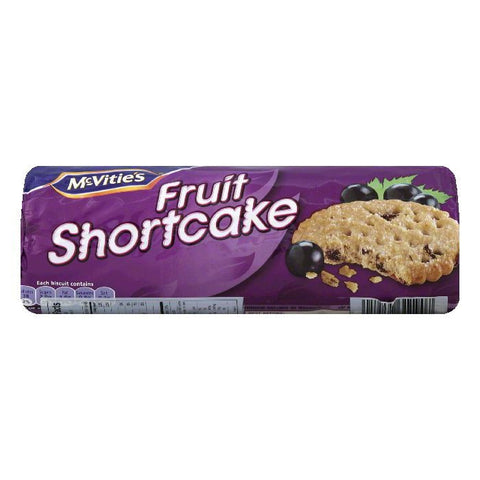 McVitie's Digestives Shortcake Fruit Cookie, 7.06 OZ (Pack of 12)