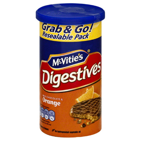 McVities Milk Chocolate & Orange Biscuits, 7.06 Oz (Pack of 12)