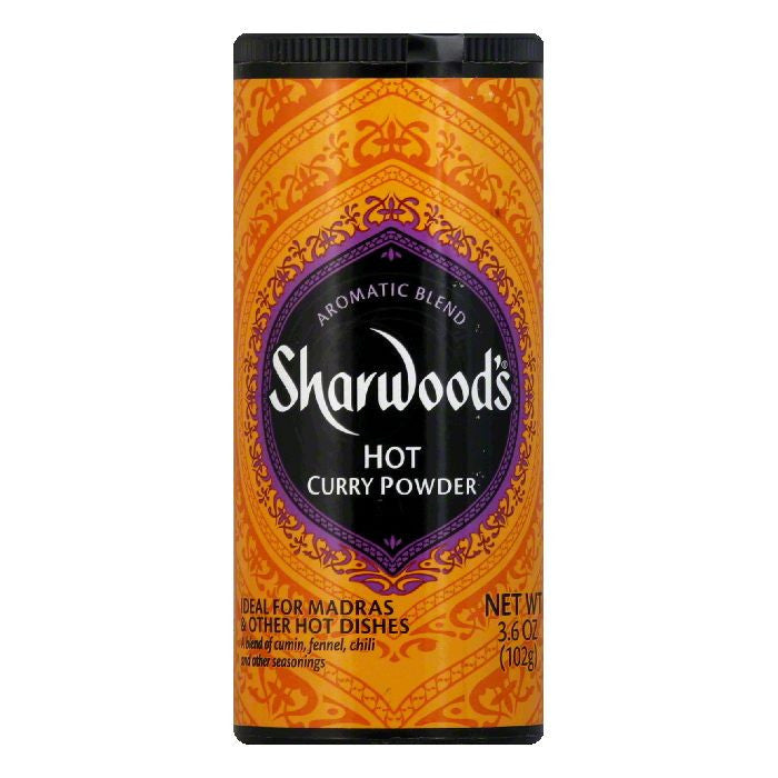 Sharwood Spice Hot Curry Powder, 3.6 OZ (Pack of 6)
