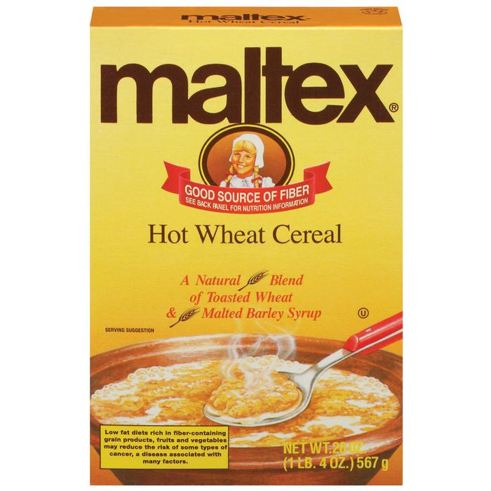 Maltex Hot Wheat Cereal 20 Oz  (Pack of 12)