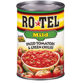 Ro*Tel Diced Tomatoes & Green Chilies Mild 10 Oz  (Pack of 12)