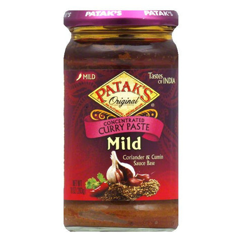 Patak's Curry Paste Mild, 10 OZ (Pack of 6)