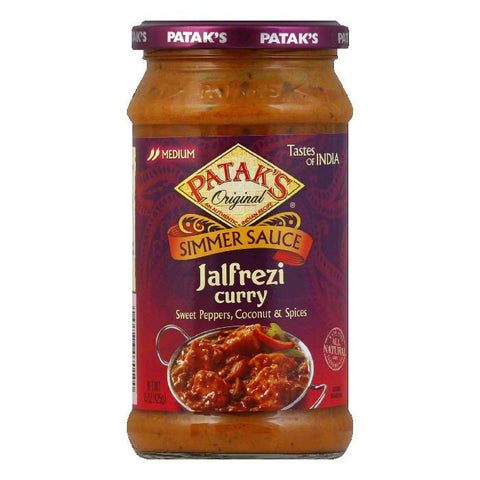 Patak's Cooking Sauce Sweet Peppers & Coconut *Jalfrezi*, 15 OZ (Pack of 6)