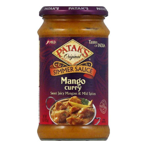 Patak's Cooking Sauce Mango Chicken, 15 OZ (Pack of 6)