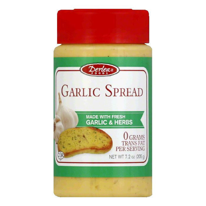 Derlea Brand Foods Garlic Spread, 7.2 OZ (Pack of 6)