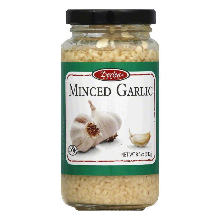 Derlea Minced Garlic, 8.5 Oz (Pack of 12)