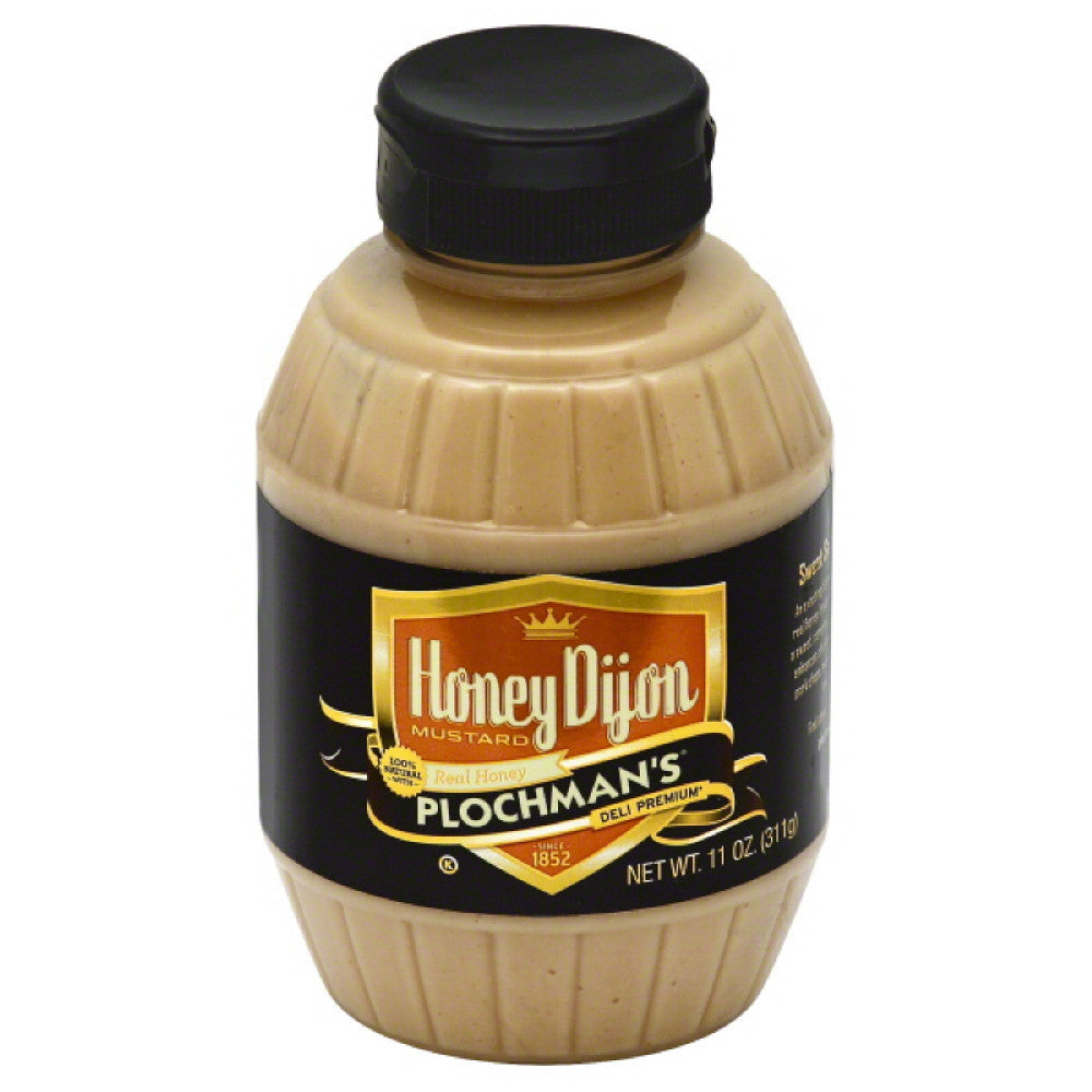 Plochmans Honey Dijon Mustard, 11 Oz (Pack of 6)