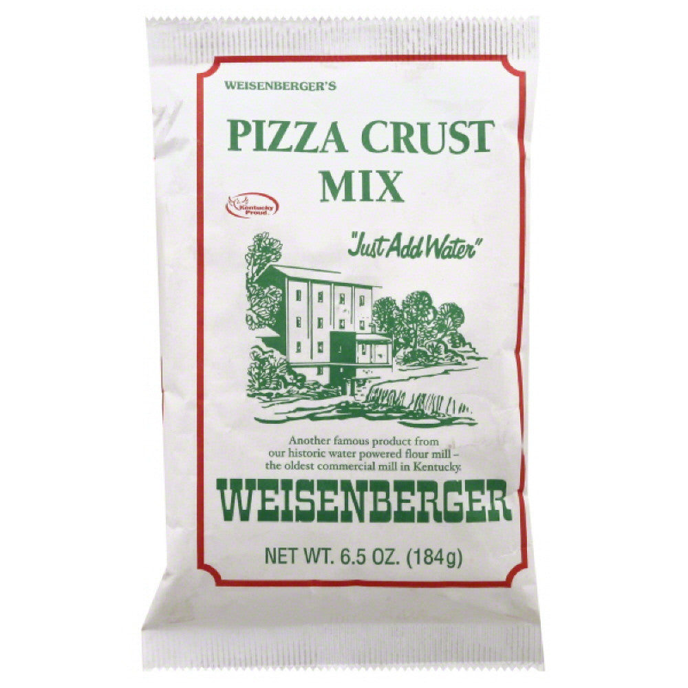 Weisenberger Pizza Crust Mix, 6.5 Oz (Pack of 12)