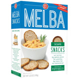 Old London Melba Snacks Sesame 5.25 Oz  (Pack of 12)