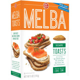 Old London Melba Toast Sesame 5 Oz  (Pack of 12)