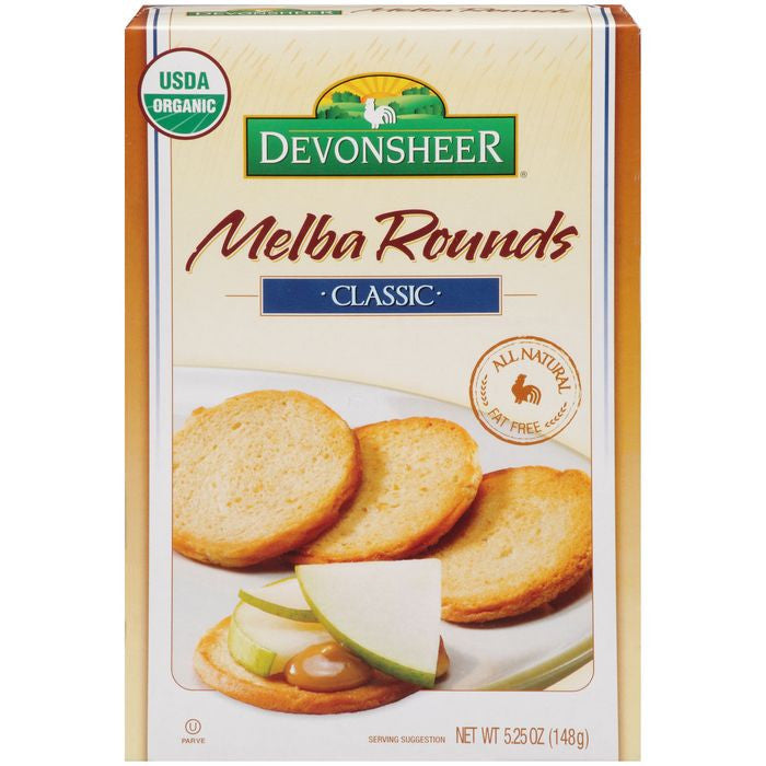 Devonsheer Melba Rounds Classic 5.25 Oz  (Pack of 12)