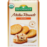 Devonsheer Melba Rounds Sesame 5.25 Oz  (Pack of 12)