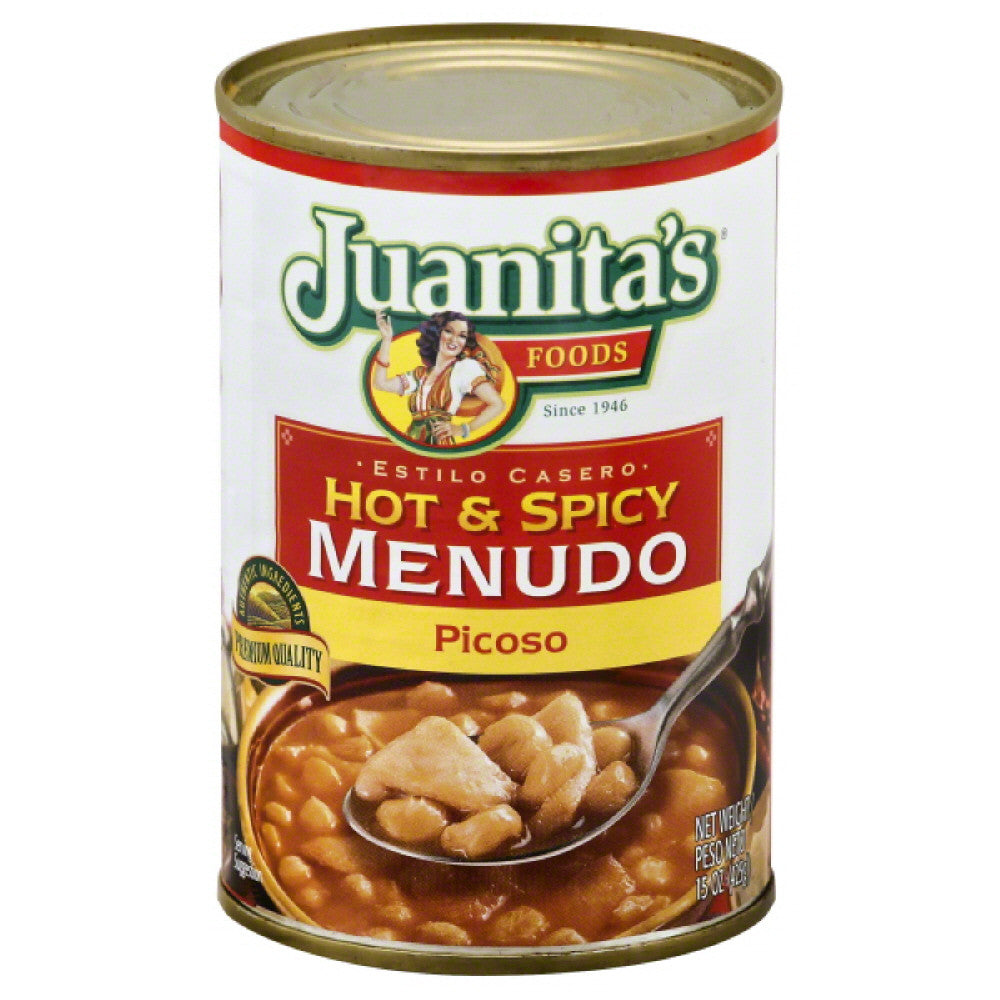 Juanitas Picoso Hot & Spicy Menudo, 15 Oz (Pack of 12)