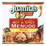 Juanitas Picoso Hot & Spicy Menudo, 25 OZ (Pack of 12)