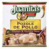 Juanitas Chicken & Hominy Soup, 25 OZ (Pack of 12)