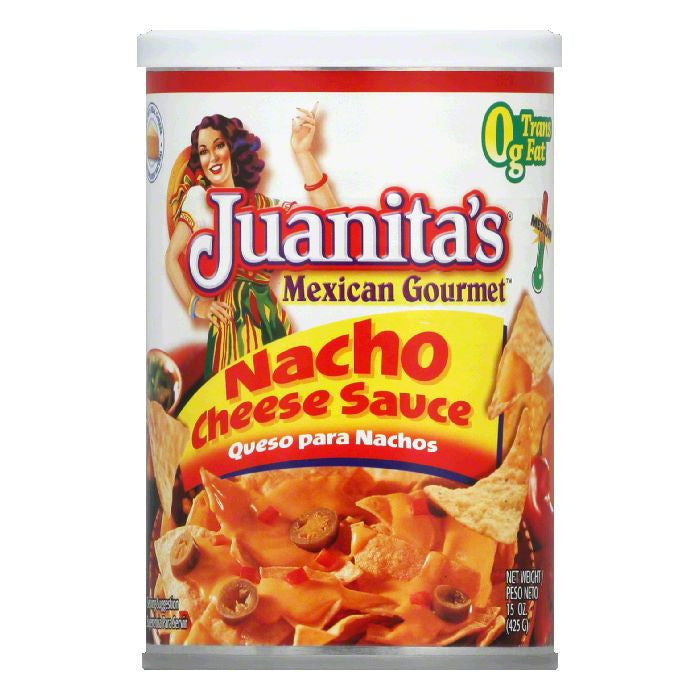 Juanitas Medium Nacho Cheese Sauce, 15 Oz (Pack of 12)