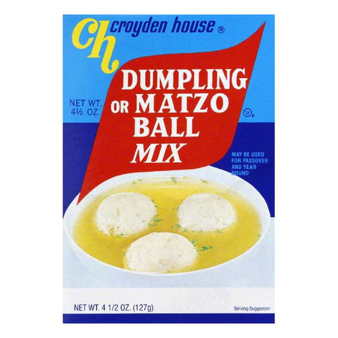 Croyden House House Matzo Ball Mix, 4.5 OZ (Pack of 24)