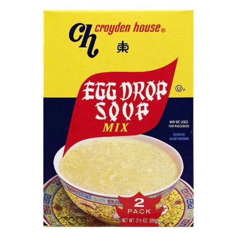 Croyden House Egg Drop Soup Mix, 2 ea (Pack of 24)