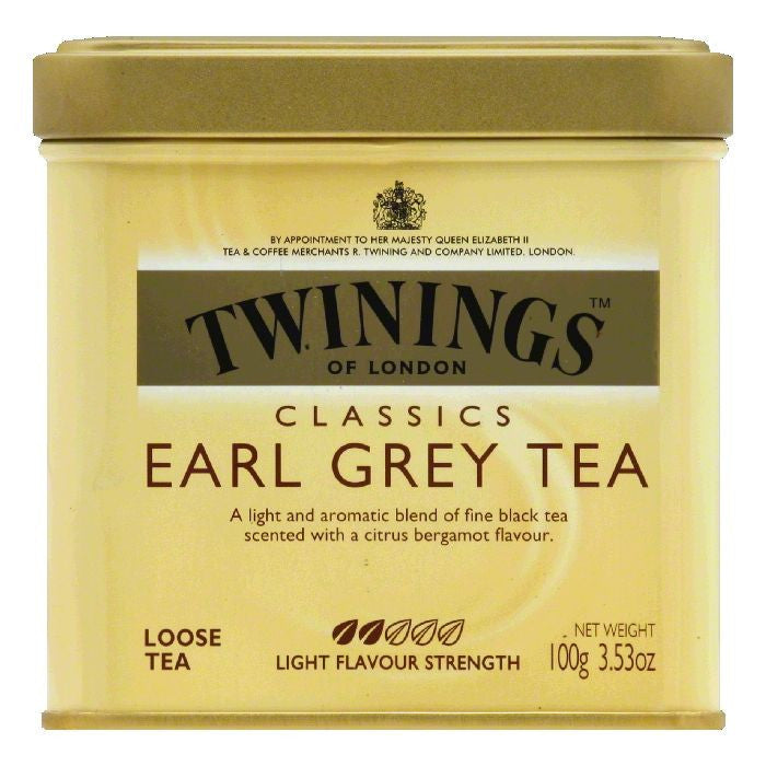 Twinings Earl Grey Tea Loose, 3.53 OZ (Pack of 6)