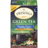 Twinings of London Nightly Calm Green Tea Bags 20 ct  (Pack of 6)