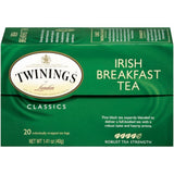 Twinings of London Classics Irish Breakfast Robust  Tea Bags 20 Ct  (Pack of 6)