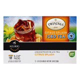 Twinings K-Cup Packs Citrus Splashed Iced Tea, 12 ea (Pack of 6)