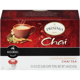 Twinings Of London Chai Tea K-Cup 1.44 oz  (Pack of 6)