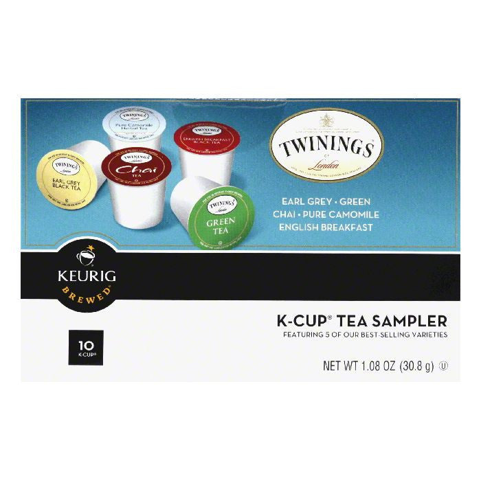 Twinings K-Cup Tea Sampler, 1.06 Oz (Pack of 6)