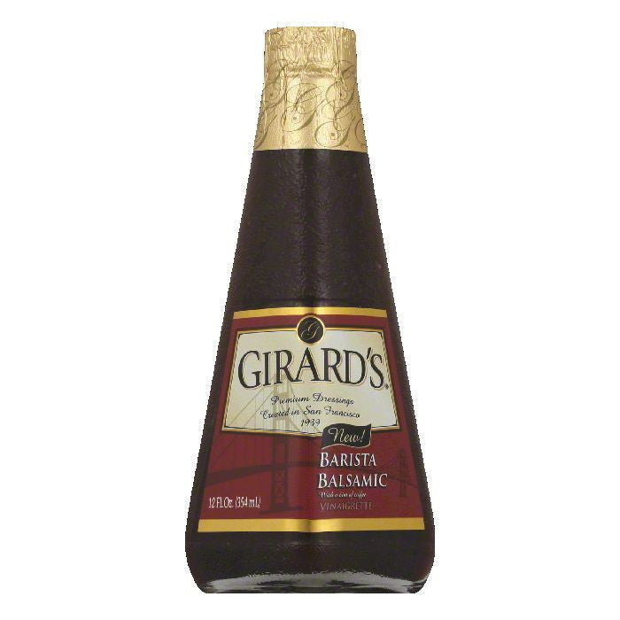 Girards Barista Balsamic Vinaigrette, 12 Oz (Pack of 6)