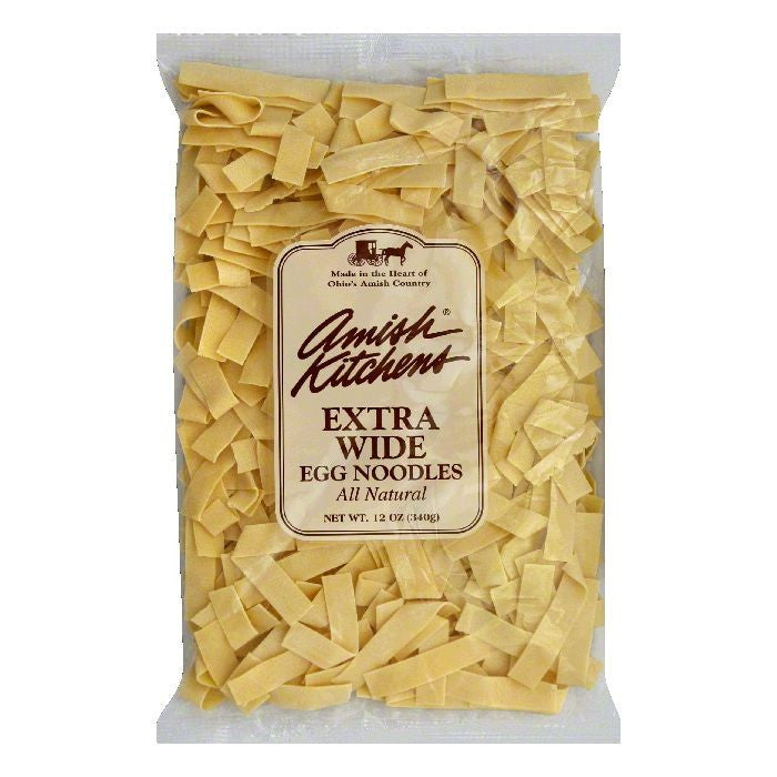 Amish Kitchen Noodles Extra Broad, 12 OZ (Pack of 12)