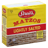 Streits Lightly Salted Matzos, 11 Oz (Pack of 12)