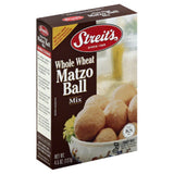 Streits Matzo Ball Mix Whole Wheat, 4.5 Oz (Pack of 12)