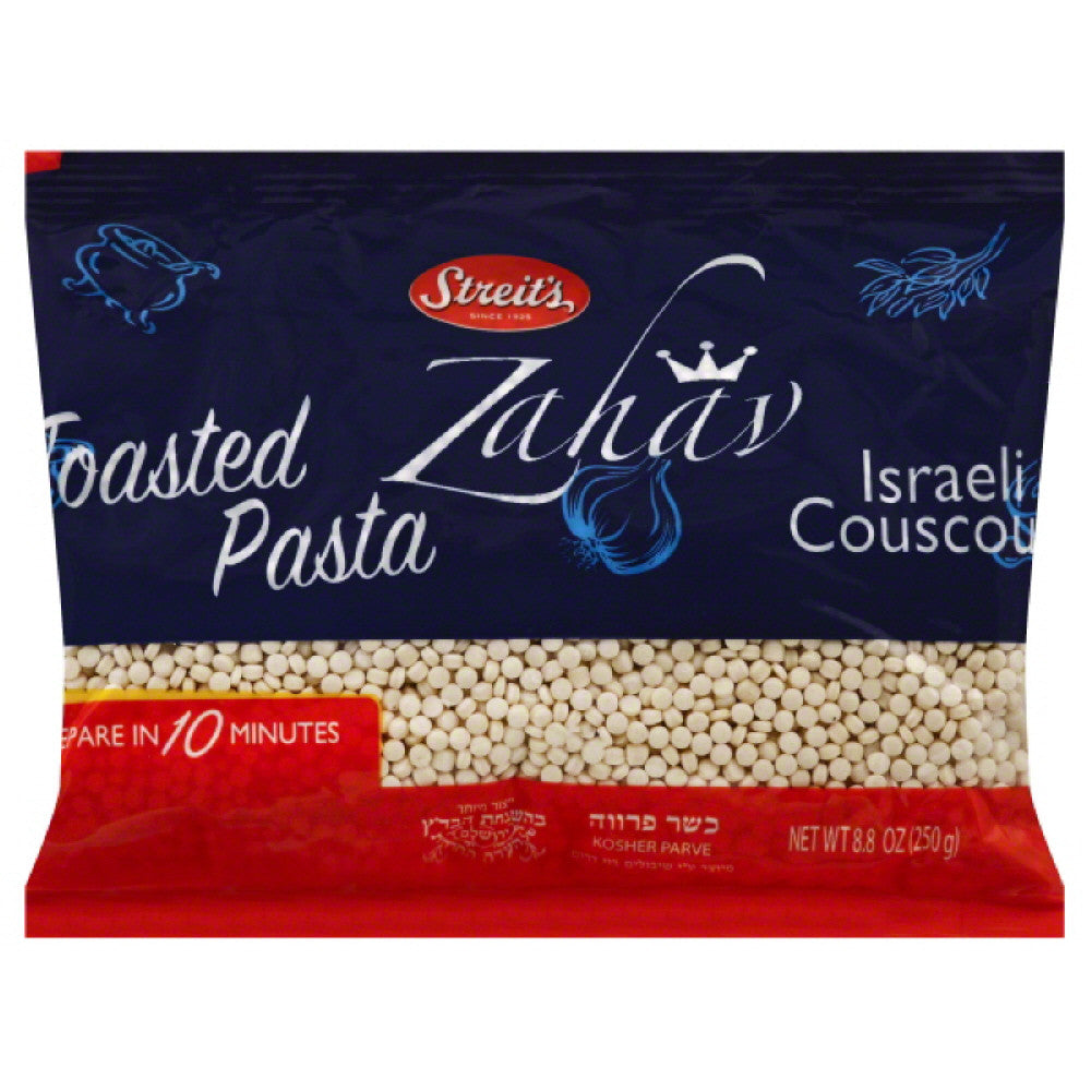 Streits Toasted Pasta Israeli Couscous, 8.8 Oz (Pack of 24)