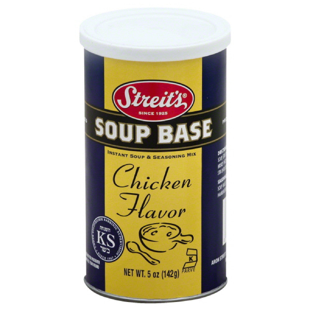 Streits Chicken Flavor Soup Base, 5 Oz (Pack of 6)