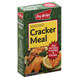 Fry Krisp Seasoned Cracker Meal, 10 Oz (Pack of 12)